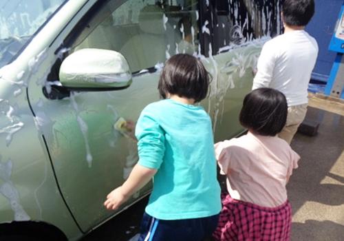 5月 ゴールデンウイーク(洗車)